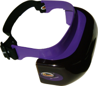 motion sickness visor front