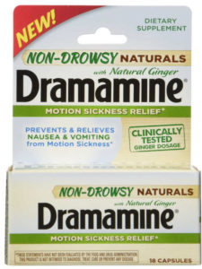Dramamine with ginger