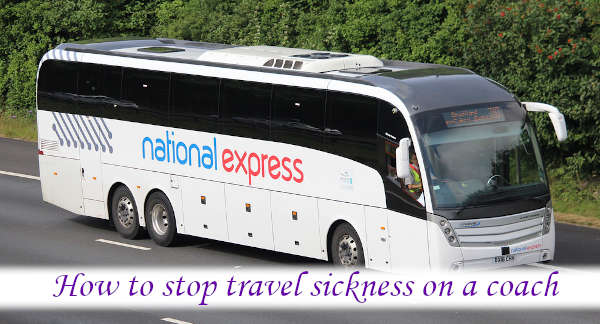 How to stop travel sickness on a coach